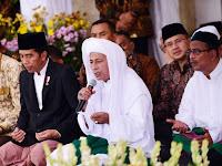 Habib Luthfy: Saya Dukung Sepenuhnya Presiden Jokowi