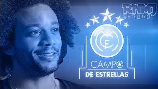 Marcelo en Campo de Estrellas de Real Madrid TV