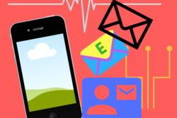 Cukup 1 langkah membuat,menyimpan berbagai email dengan myMail di Smartphone