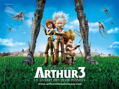 Arthur 3 The War of the Two Worlds 2010 Dual Audio Hindi Movies Download 480p