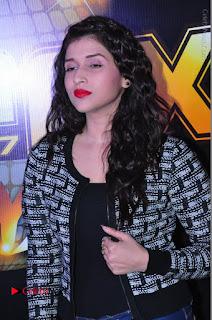 Actress Mannara Chopra Stills in Jeans at Sparx 2017 Curtain Raiser Event  0036.JPG
