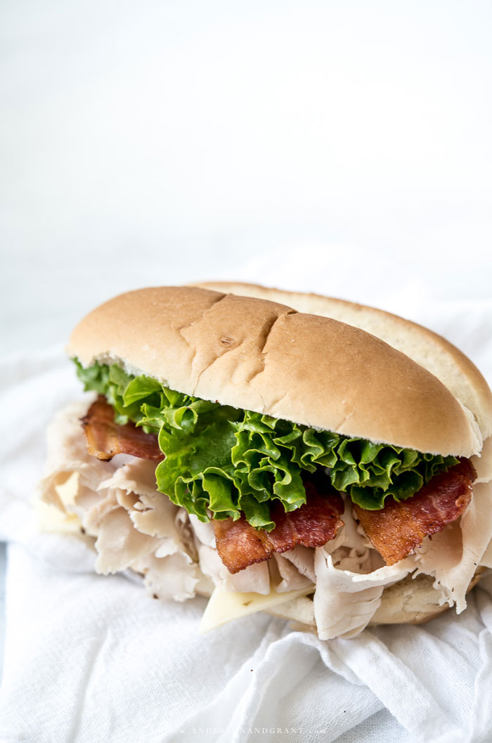 Pepper Jack Turkey Sub