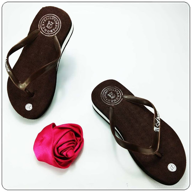 Sandal Wedges Polos Anak