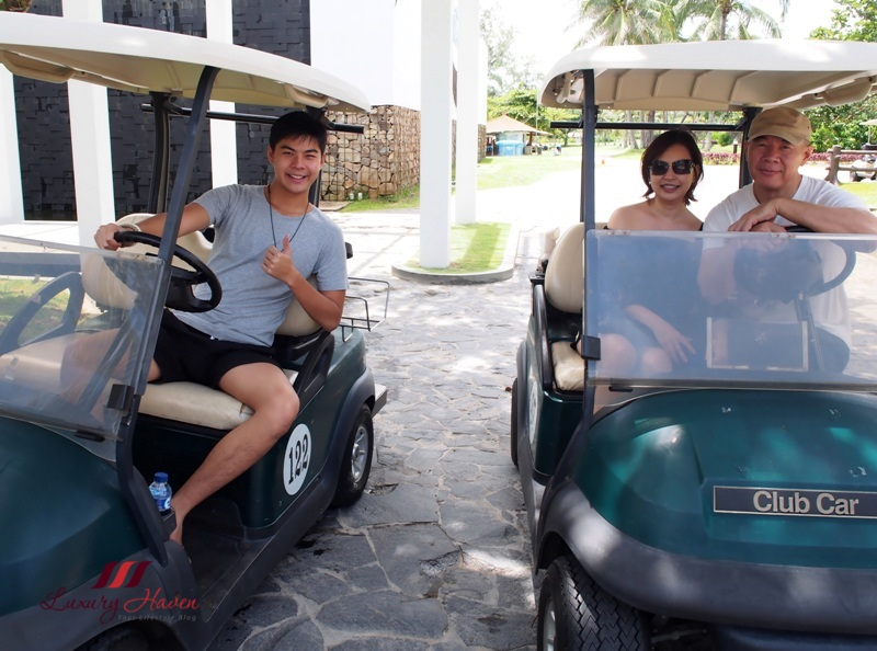 travel blogger reviews bintan lagoon resort buggy rental
