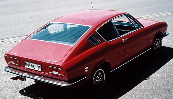 gobetanblog: Audi 100 Coupé S (1970)