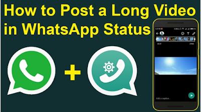 Cara Memasang Video Panjang di Status WhatsApp, Begini caranya