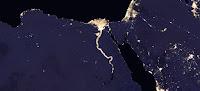 Nile River at Night