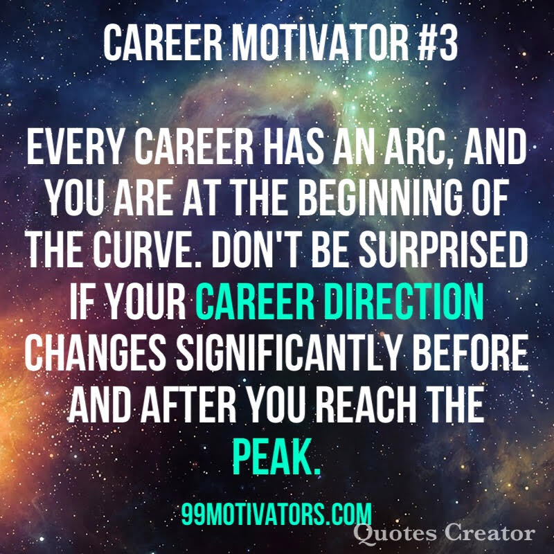 Life Quotes Careers: 99 Motivators For College Success: Career Motivation Quote