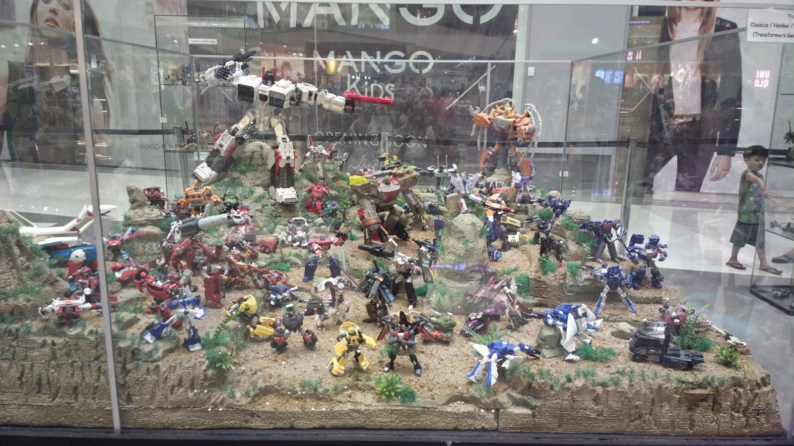 Transformers Exhibit