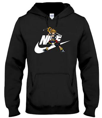 Kingdom Hearts Sora Nike Hoodie