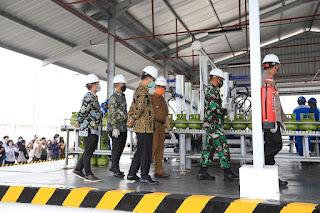 Peresmian Stasiun Pengisian dan Pengangkutan Bulk Elipiji (SPPBE)