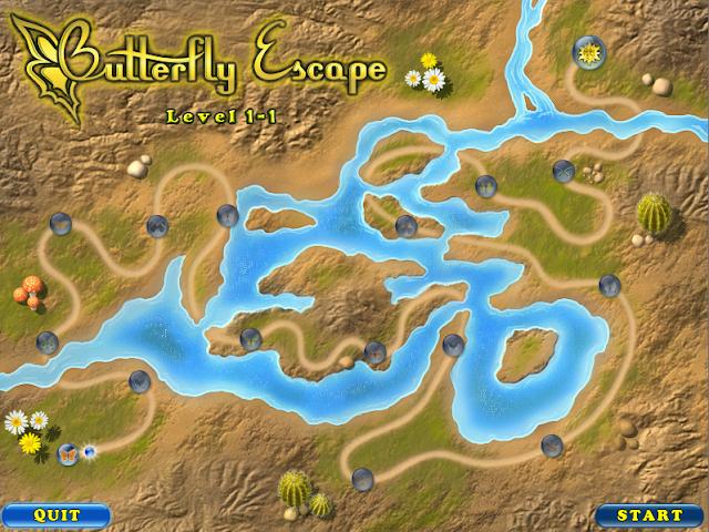تحميل لعبة زوما الفراشة Butterfly Escape للكمبيوتر من ميديا فاير