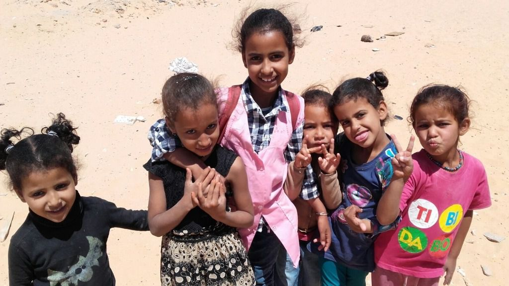 Resultado de imagen de niños saharauis