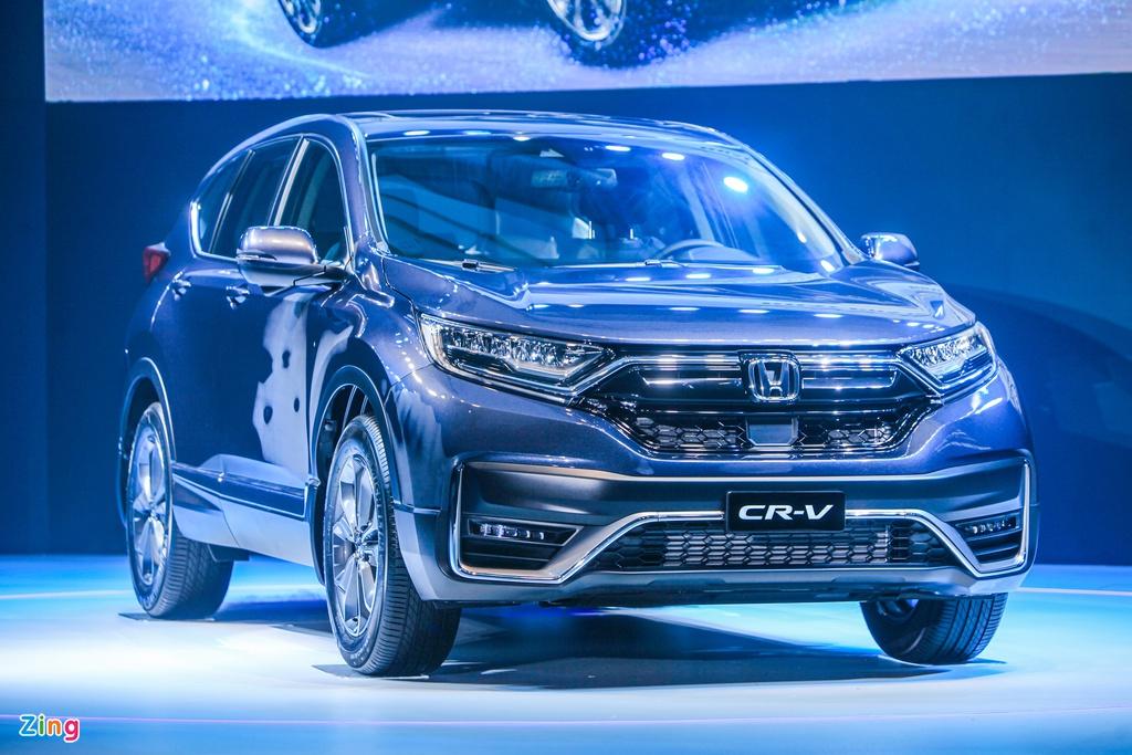 Chi tiết Honda CR-V 2020 vừa ra mắt Việt Nam
