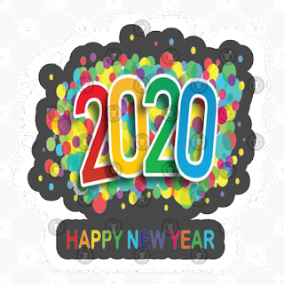 happy new year texture 2020