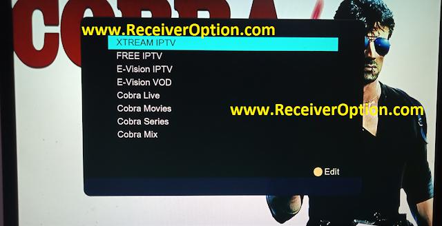 1506TV 512 4M NEW SOFTWARE WITH G SHARE PLUS & COBRA IPTV OPTION