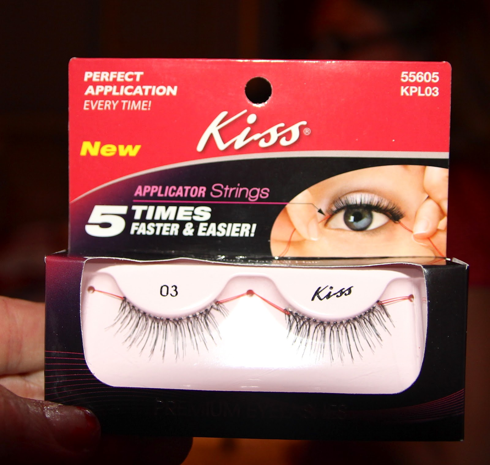 82bd379be76 AND---the most popular style of false eyelashes...easy to apply with that  string.