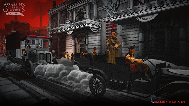 Assassin's Creed Chronicles Russia Gameplay Screenshot 1