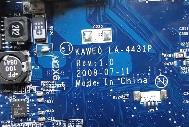 LA-4431P Rev 1.0 eMachines D520 D720 E520 E720 Bios