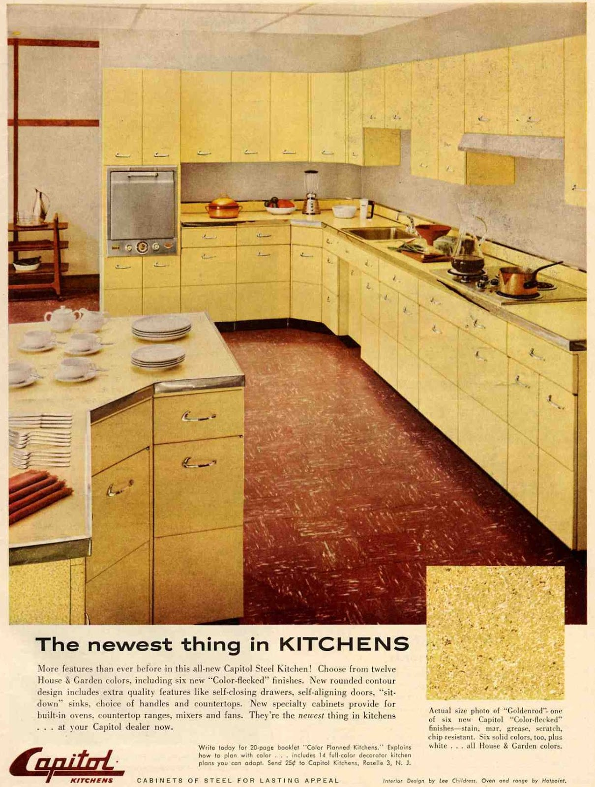 Atco Blue Flame Kitchen 1930s Kitchen Smaller Sizes Affordability Functionality Fa