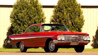 1961 Chevrolet Impala SS Front Right