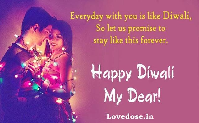 deepwali wishes for girlfriend-boyfriend