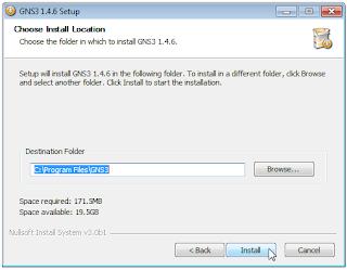 Instalasi GNS3 untuk Simulasi Jaringan Mikrotik