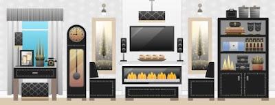 menata ruagan, interior, ruang tamu, dapur, perabot rumah, furniture