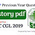 SSC CGL- 100 Previous year History Questions PDF