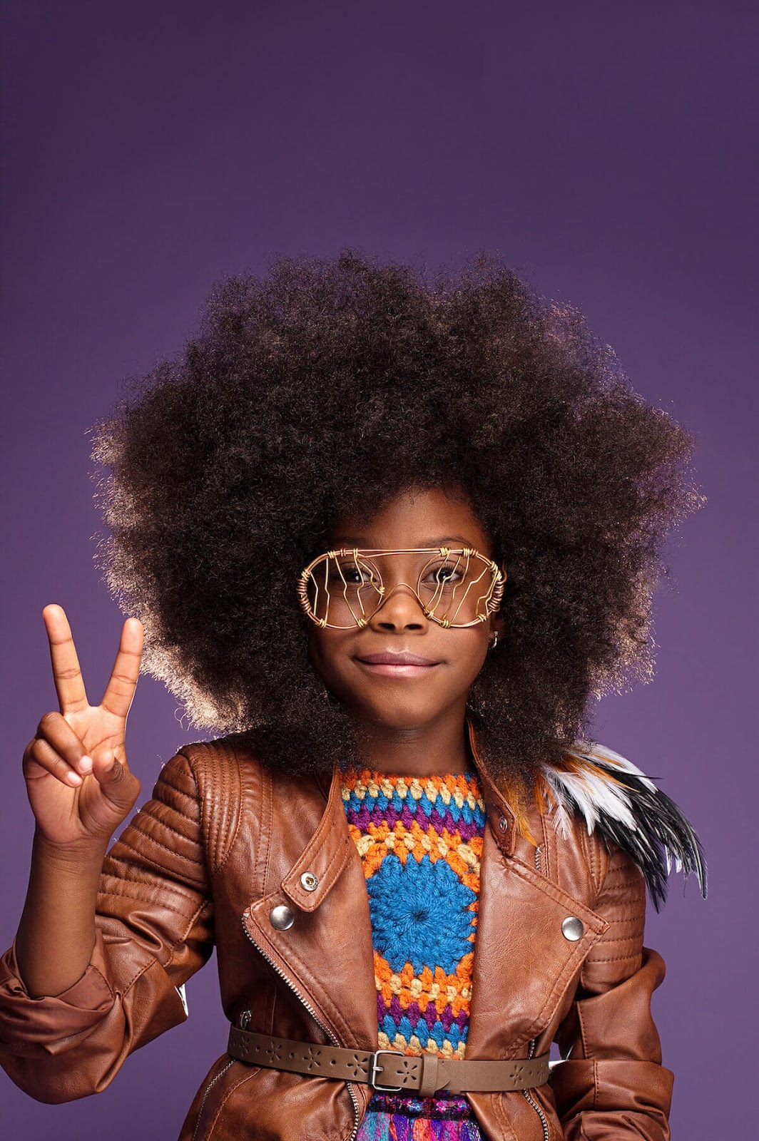 Breathtaking Portraits Of Girls With Natural Afro Hair
