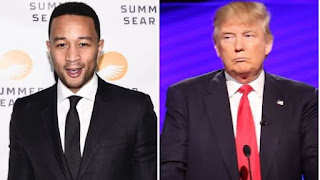 "Multiple Grammy award-winning singer, John Legend says Donald Trump Is A ""Complete Moron"""