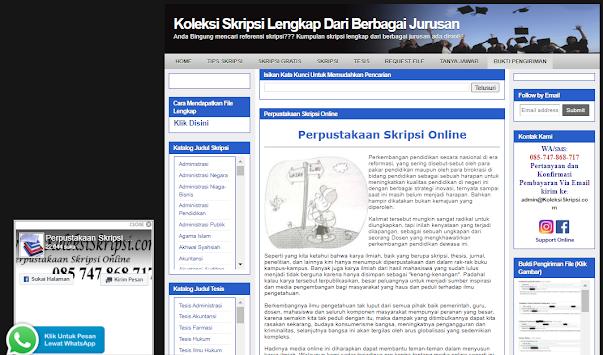 situs gratis download skripsi