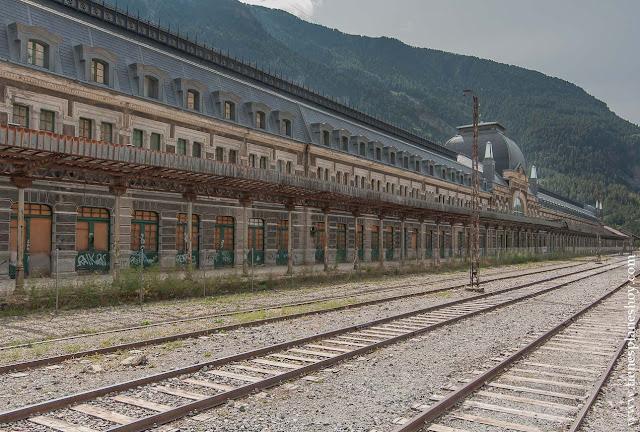 Estacion Canfran escapada pirineos francia lugares encanto