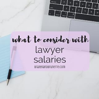 Law Job Considerations Besides Salary | brazenandbrunette.com