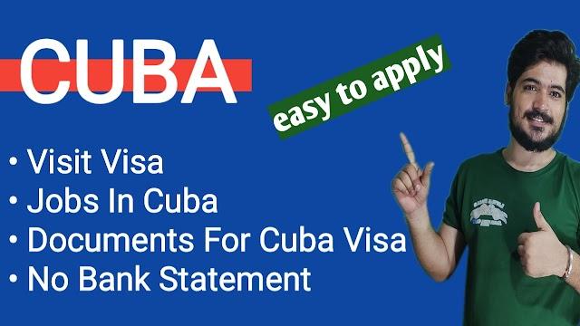 Cuba  Visa Requirements || How To Apply Cuba Visa || Jobs In Cuba || Every Visa ||