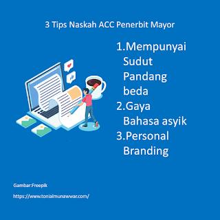 Naskah Pertama Terbit Mayor? Why Not!