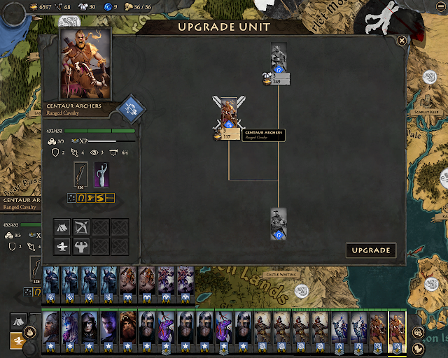 Fantasy General 2 - Centaurs Upgrades