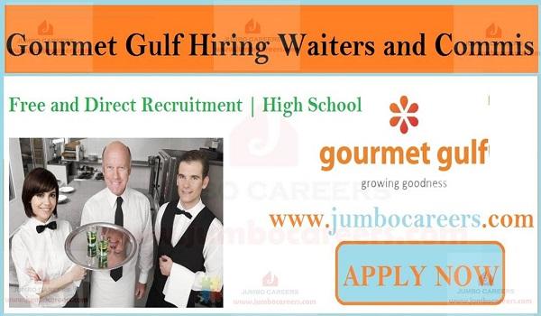 Restaurant Staff at Gourmet Gulf Dubai, Hotel jobs in UAE,