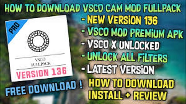 Cara Hack VSCO Full Pack Android