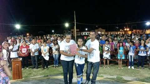 Encerramento da semana nacional da família na paróquia São João Batista.