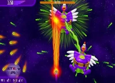 تحميل لعبة الفراخ 4 Chicken Invaders للكمبيوتر والموبايل مجانا برابط مباشر