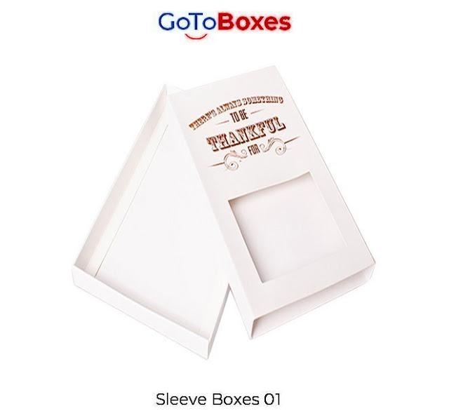 Sleeve Boxes Wholesale