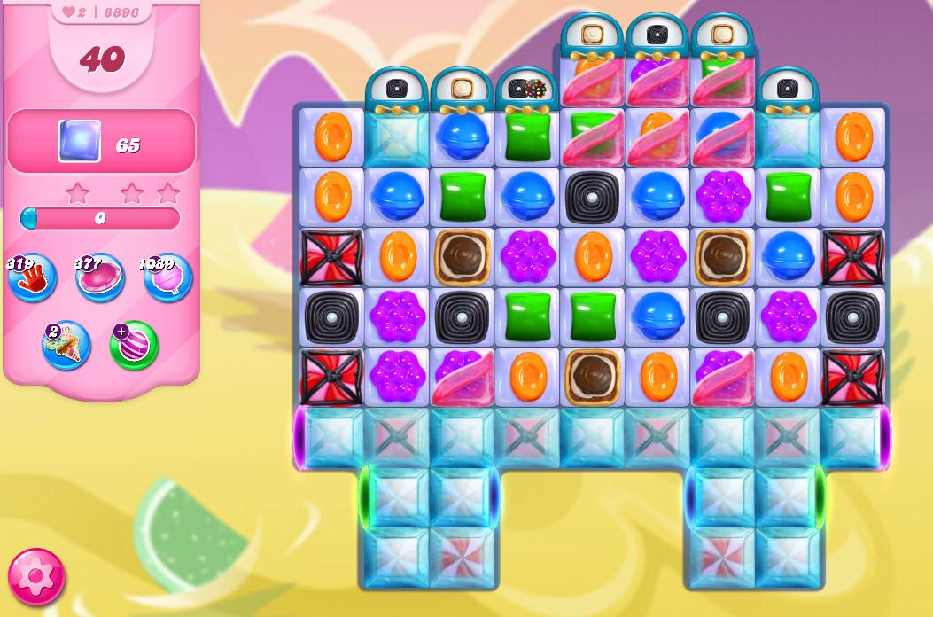 Candy Crush Saga level 8896