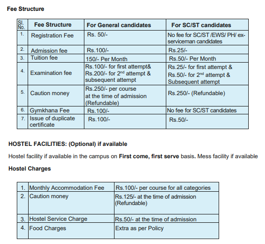 CTS Admissions 2021 Fee Structure