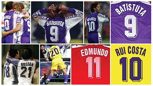 f71614afe Football teams shirt and kits fan  Font Fiorentina 1998 thru 2000 kits