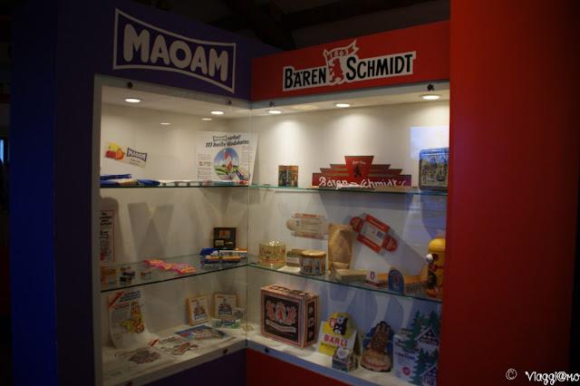La seconda sala espositiva del Museo Haribo