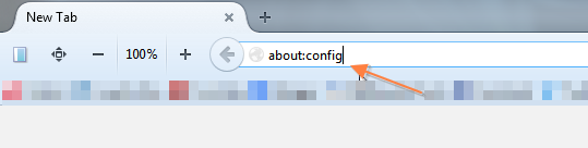 address bar Firefox