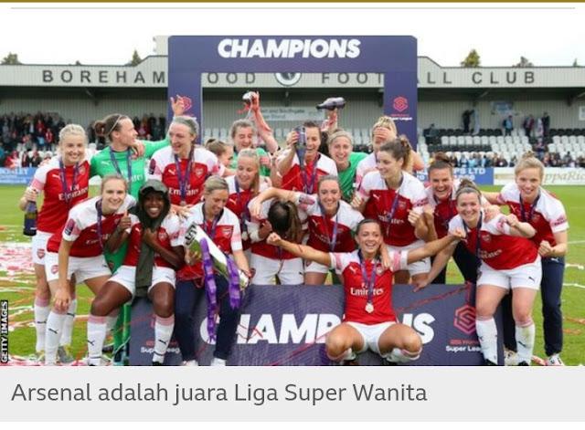 Liga Premier Liga Super Wanita dari FA