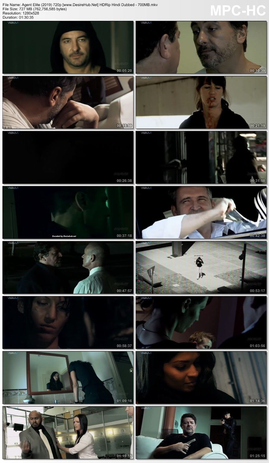 Agent Elite (2019) Hindi Dubbed 720p HDRip – 700MB Desirehub