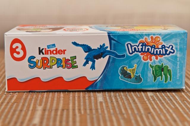 Kinder Surprise - Kinder Surprise Infinimix - Dessert - Chocolat au lait - Chocolat - Milk - Lait - Milk chocolate - Kinder - Ferrero - Child - Kinder